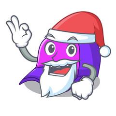 Santa baseball cap in shape cartoon beautiful