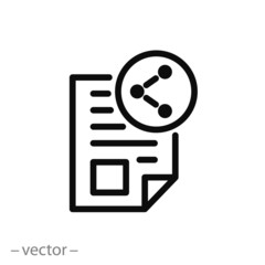 showing text, context icon vector