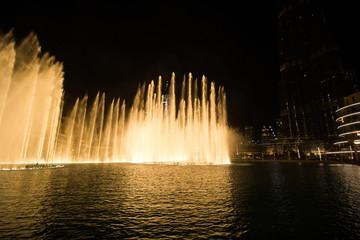 singing fountains in Dubai