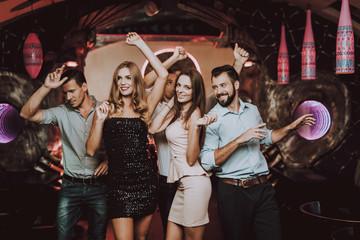 Young People.Karaoke Club.Dance People.Great Mood.