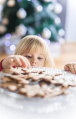 Healthy Gingerbread - Christmas cookie