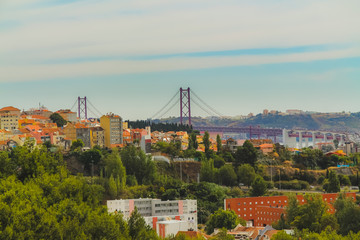 View of the west side of Lisbon