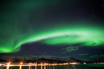 Aurora borealis, Norway, Tromso