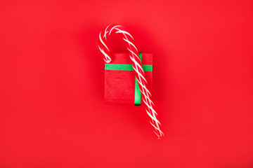 Christmas inspired flatlay