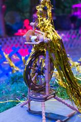 Spinnrad zum Gold spinnen von Rumpelstilzchen