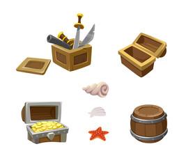 set pirate items