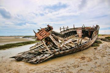 Acrylic Prints Shipwreck etel