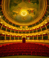 Croatian National Theatre in Sibenik old town