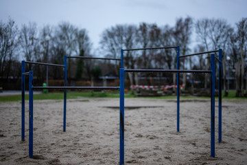 Playground in the Wilhelmshaven Wiesenhof school