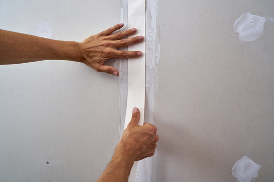 laminated plasterboard plastering join tape