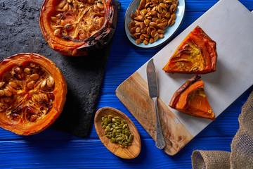 Roasted pumpkin recipe outumn halloween