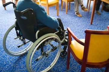 Seniors en fauteuil