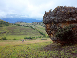 Los Monolitos (The Monoliths) near Suesca, Colombia