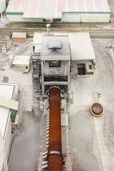 Building of cement factory