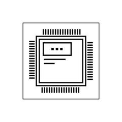 Computer unit sign