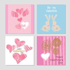 Set Valentine card21