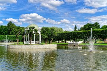 Springbrunnen im Kadrioru Park, Tallinn, Estland
