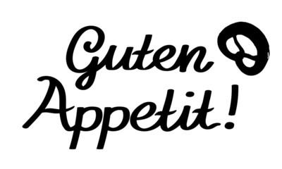 Guten Appetit with Brezel Logo