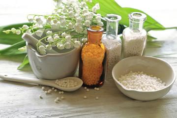 Homeopathy medicine concept