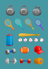 active,activeness,activism,activity,athletic,badminton,ball,balls,baseball,basketball,blue,boxing,boxing pear,cap,championship,circle,collection,competition,dumbbell,element,emblem,equipment,football,