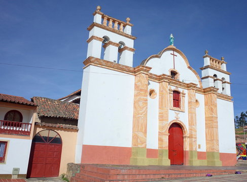 The town of Tota, a center of indigenous life in Colombia