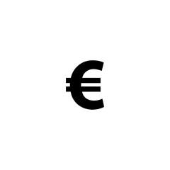 euro simple icon