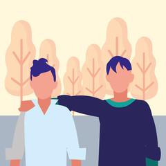 Avatar men design