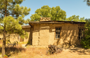 George Salmon homestead built in 1890s near Chaco Canyon in Northwest New Mexico.