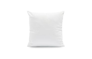 Pillow on isolated background with clipping path for your design.