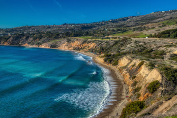 Stunning Cliffs of Abalone Cove Fototapete