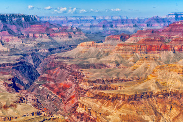 Amazing natural geological formation - Grand Canyon in Arizona, Southern Rim.