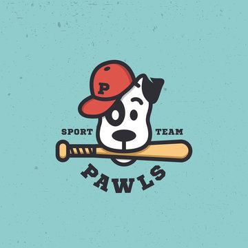 Dog sport mascot