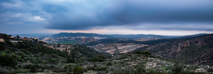 Storm Clouds Over Isreal