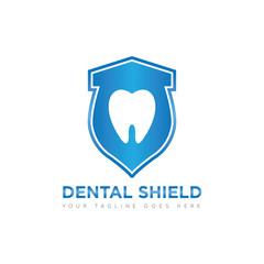 dental logo and icon vector illustration design template