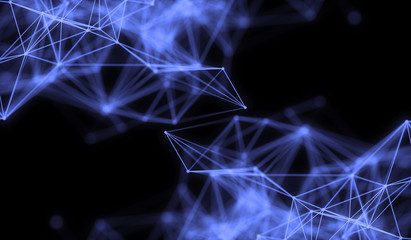 Modern nano plasma energy laser futuristic virtual technology background,  digitally generated image.