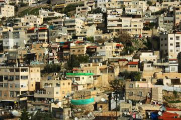 Arab neighborhoods of eastern Jerusalem
