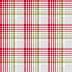 Christmas plaid modern classic pattern
