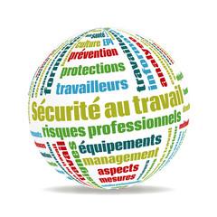 Logo sécurité au travail.