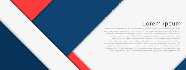 Material Design background with with sample text copy space. Vector illustration.