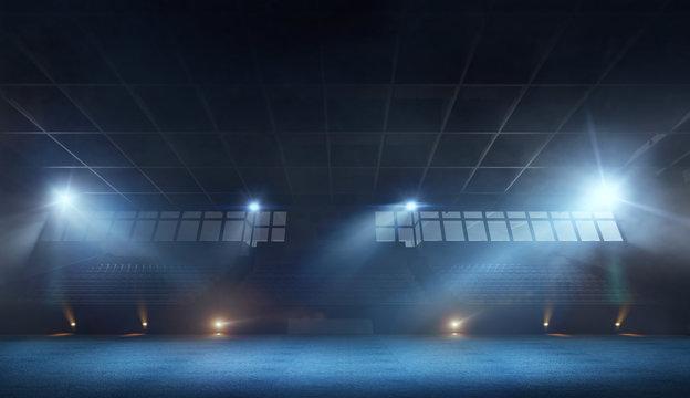 3D rhythmic gymnastic stadium
