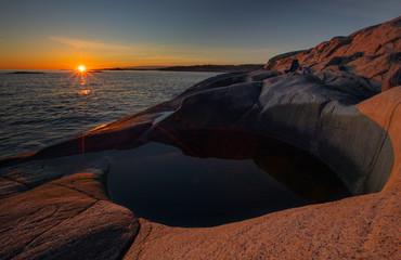 Giant´s Pot Sunset