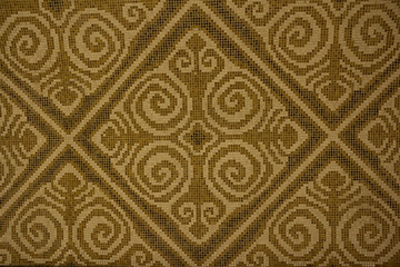 mosaic national texture ornament