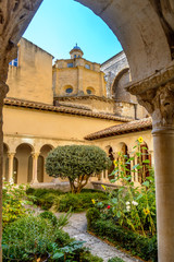St. Sauveur cloister at the Cathedral in Aix-en-Provence, France