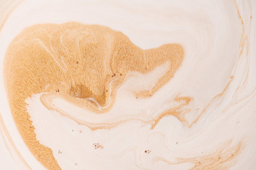 Marbled color abstract background