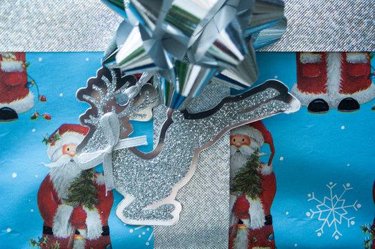 Reindeer Christmas gift tag