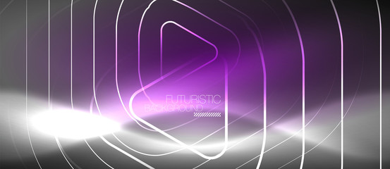 Vector neon color abstract background