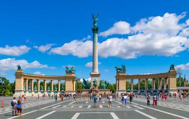 Tuinposter Boedapest Heldenplatz Budapest