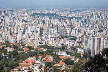 View of Belo Horizonte City Belo Horizonte, Minas Gerais/brazil December 12/23/2018