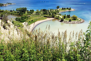 View from Scarborough Bluffs