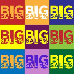 inscriptions for a big sale